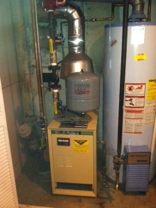 (1B) BOILER REPLACED