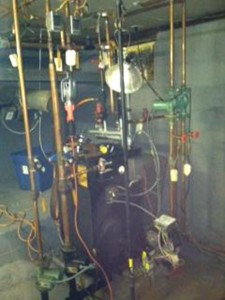 (5A) OLD BOILER SYSTEM CONFIGURATION