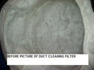 (6A) DUCT CLEANING PRIMARY FILTER BEFORE